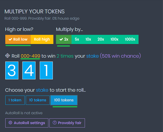 coinpot multiply tokens
