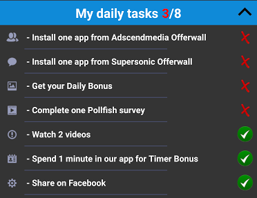 gcash daily tasks