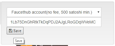 payment method faucethub set btc address bitcoinsfor.me 1