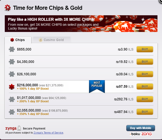 zynga poker sale